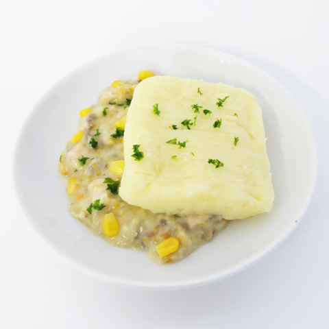 Creamy Chicken & Sweetcorn Pie