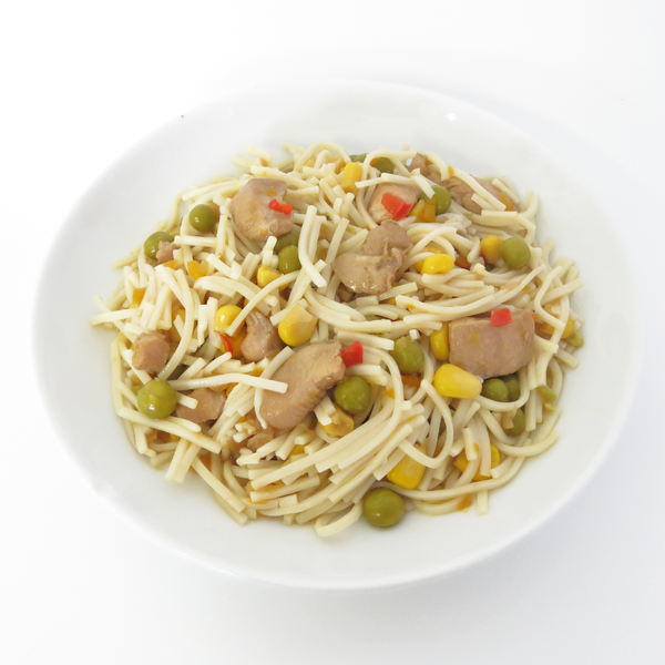 Oriental Chicken & Vegetables with Egg Noodles