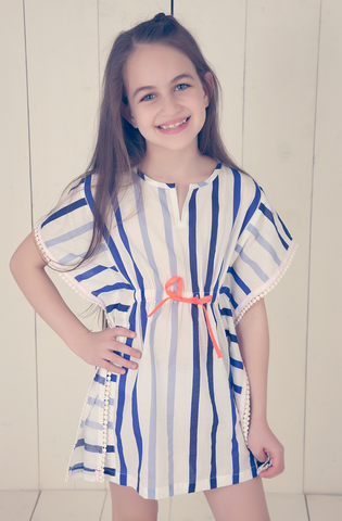 Stripe & Dot Nightshirt