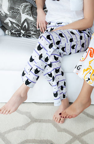 Cat Person Pajama Trouser