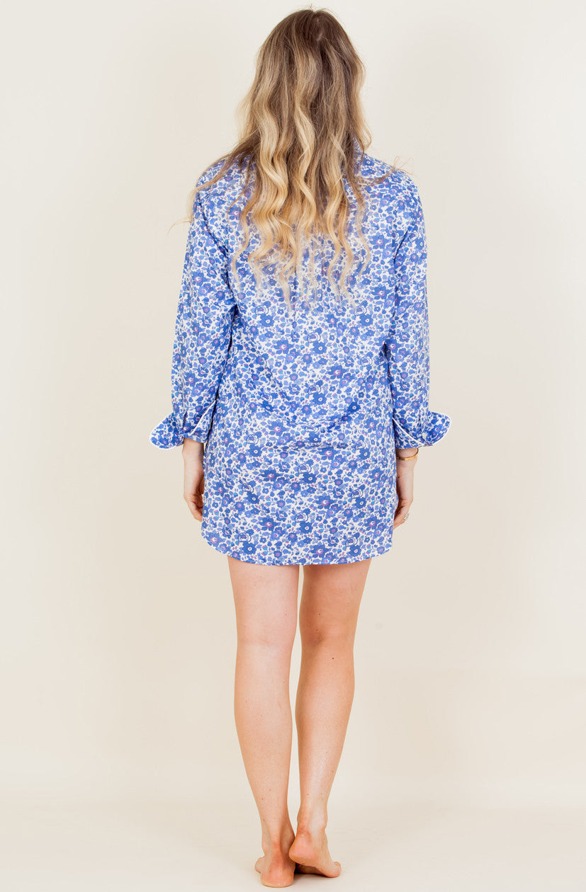 The Betsy - Liberty of London Cotton Nightshirt - We will back with new prints soon!