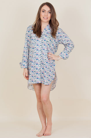 The Zoo - Liberty of London Cotton Nightshirt - We will be back with new prints soon!