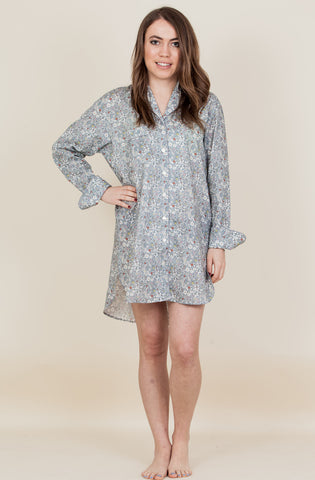 The June - Liberty of London Cotton Nightshirt -We will be back with new prints soon!