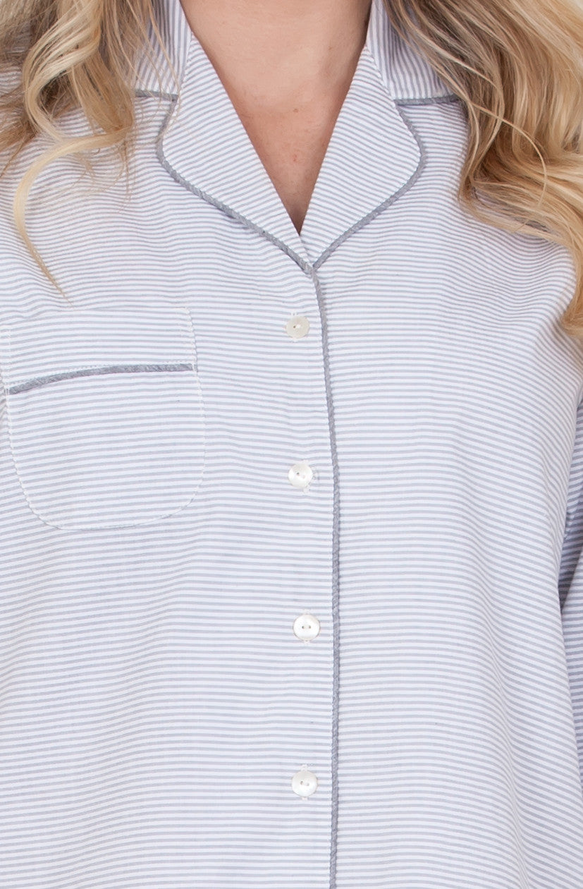 The Classic Oxford Cotton Nightshirt