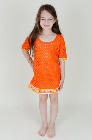 Summer Fiesta Cover Up (Kids)