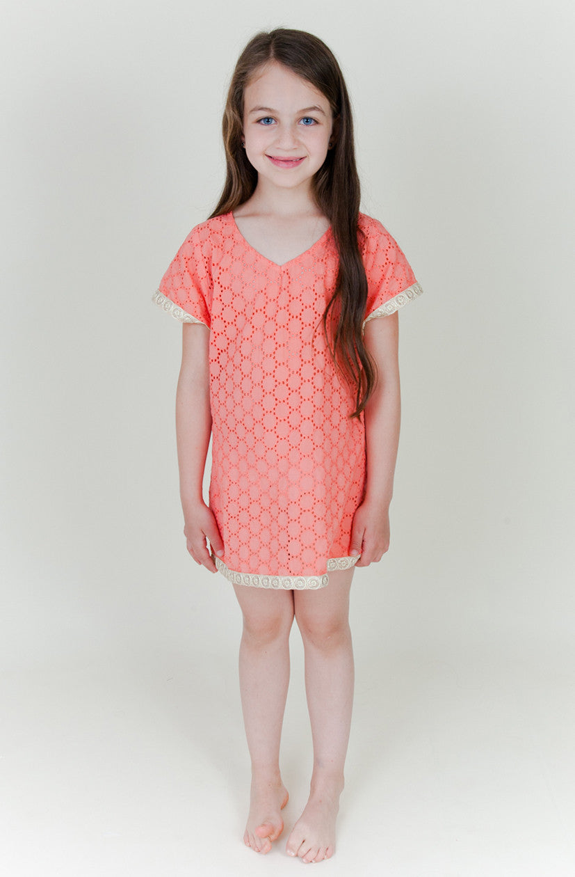 Coral Beach Cover Up (Kids)
