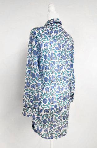 Blue Cotton Nightshirt