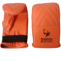 Orange PHOENIX BOXING BAG MITTS