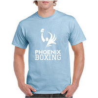 MEN'S PHOENIX BOXING PERFORMANCE T-SHIRT - BLUE