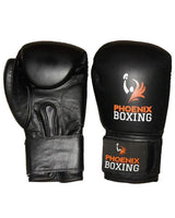 Black  PHOENIX BOXING Super Bag Gloves   (10 oz, 12 oz)