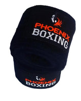 Black Phoenix Boxing Mexican HandWraps