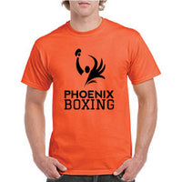 MEN'S PHOENIX BOXING PERFORMANCE T-SHIRT - ORANGE