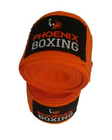 Orange Phoenix Boxing Mexican HandWraps