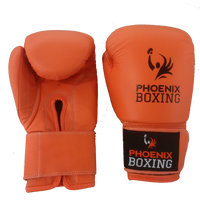 Orange  PHOENIX BOXING Super Bag Gloves   (10 oz, 12 oz)