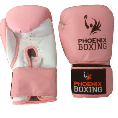 Pink  PHOENIX BOXING Super Bag Gloves   (10 oz, 12 oz)