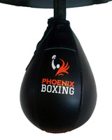 Black PHOENIX BOXING SPEED BAGS