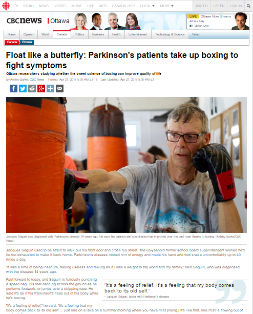 Float Like A Butterfly News Article