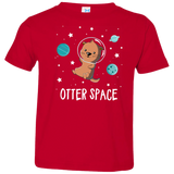 Otter Space Kids Space Science T-Shirt