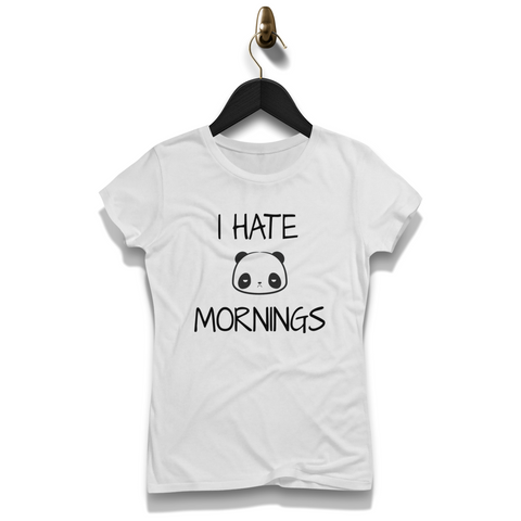 I Hate Mornings Shirt