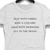Play With Fairies Shirt