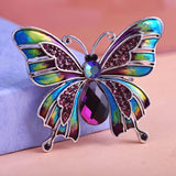 Colorful Butterfly Brooch Pin