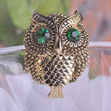 Cool Owl Brooch Pin