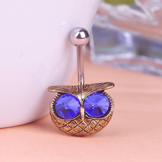 Owl Piercing (Belly Button Ring)
