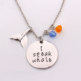 I Speak Whale Necklace