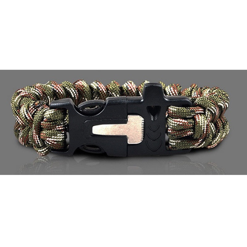 Emergency Survival Casual Buckle Bracelet