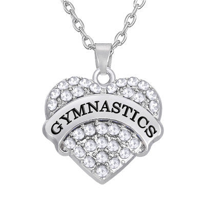 Gymnastics Sporty Necklace