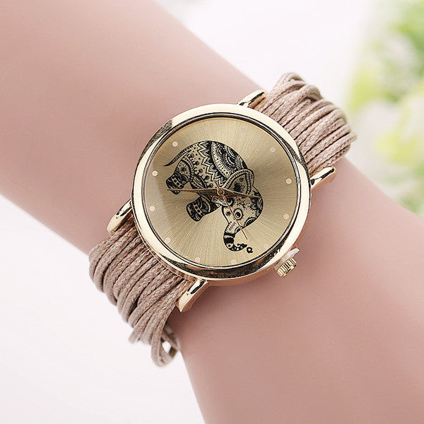 Elephant Wrist Watches