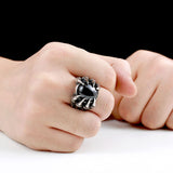 Dragon Claw Heavy Metal Ring