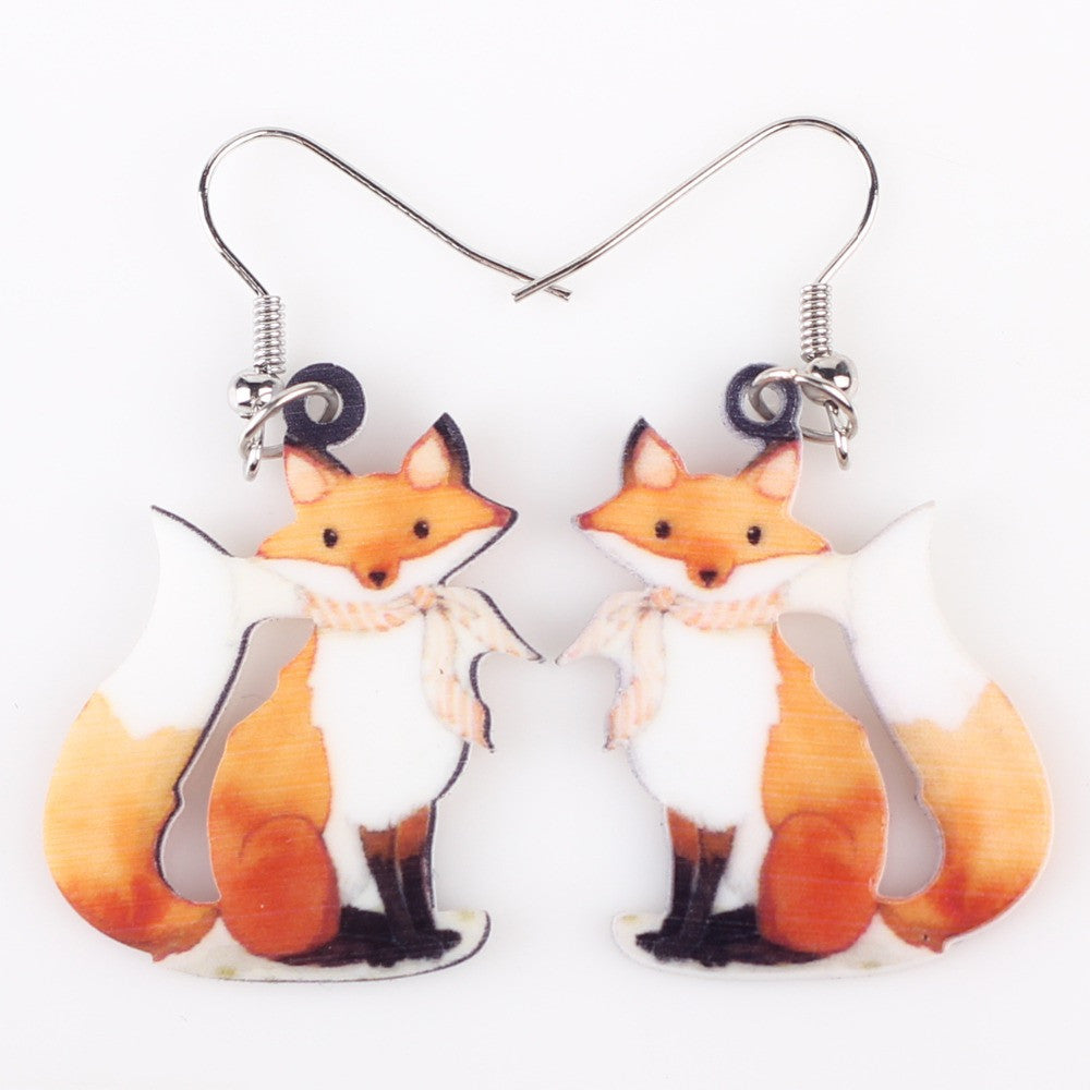 Bonsny Fox Earrings