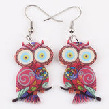Bonsny Owl Earrings