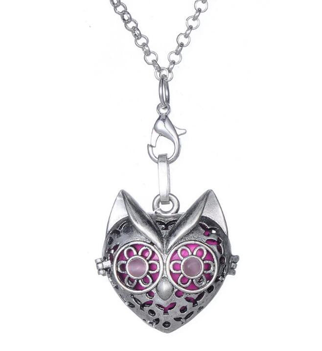 Animal Cat Head Pendant Necklace