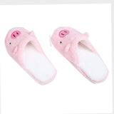 Soft Pink Pig Slippers