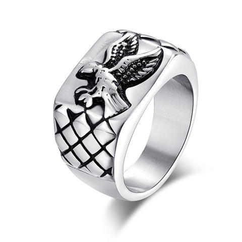 Eagle Ring (Stainless Steel)