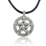 Pentacle Protection Star Pendant Necklace