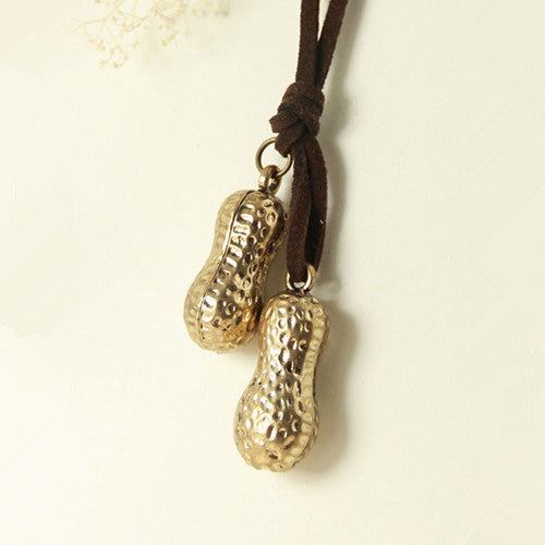 Peanut Pendant Necklace
