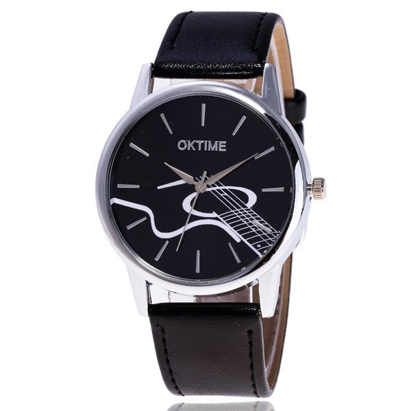 OKTIME Guita Musice Note Watch