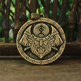 Handmade Gods of Ancient Rus Fair Masters Valknut Amulet Viking Necklace