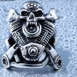 Beier Motorcycle Skull biker Ring