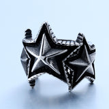 Beier Three Side Star Ring