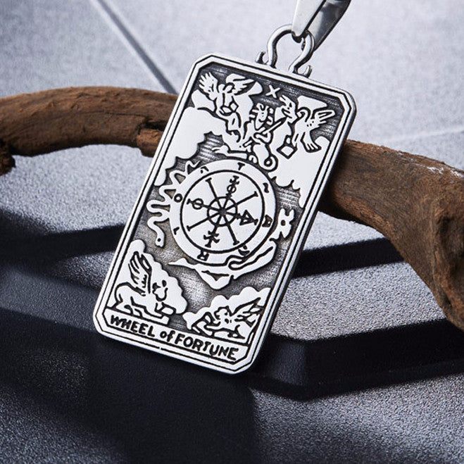 Beier The Wheel of Fortune Pendant Necklace