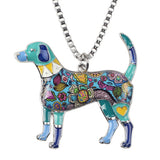 Bonsny Beagle Pendant Necklace