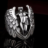 Beier Winged Feather Angle Ring