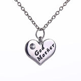 God Mother Elegant Pendant Necklace