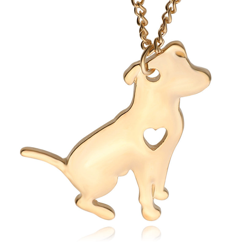 The Teacup Dog Pendant Necklace