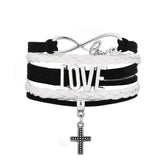 CROSS LOVE Stretch Bracelet