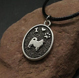 Handmade Samoyed Dog Necklace